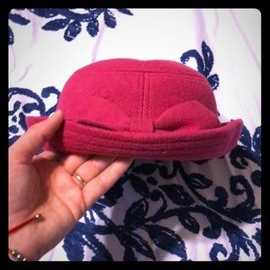 Gorgeous Pink little girls Hat